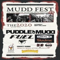 Puddle of Mudd, Fuel, Local H And Tantric at The Afterlife Music Festival