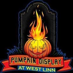 Pumpkin Display at West Linn