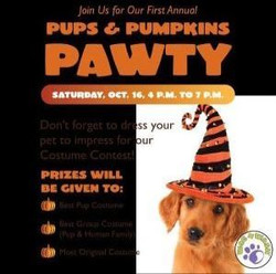 Pups and Pumpkins Pawty!