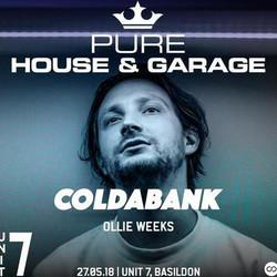 Pure House & Garage ft. Coldabank!