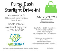 Purse Bash at the Starlight Drive-In