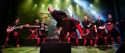 Red Hot Chilli Pipers at Blackpool Grand Theatre June 2022