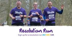 Resolution Run Christchurch Park 2019 5k/10k
