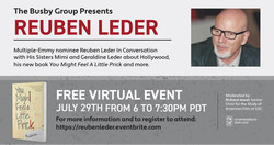 Reuben Leder In Conversation with His Sisters Mimi and Geraldine Leder