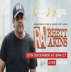 Rhett Akins Live Online Concert December 13th