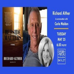 Richard Alther discusses his novel Bedside Matters with Carla Malden
