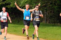 Richmond Park Half Marathon, July 2021