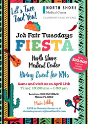 Rn Hiring Event – Taco 'Bout You! Tuesday – on 4/13 | North Shore Medical Center