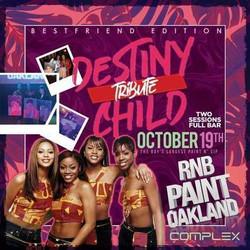 Rnbpaint : October ( Destiny Child Tribute ) Bestfriend Edition
