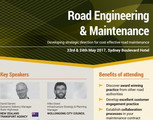 Road Engineering and Maintenance Sydney May 2017