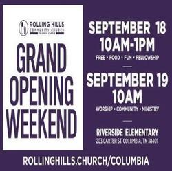 Rolling Hills Community Church Grand Opening
