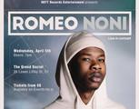 Romeo Noni: Live in Concert