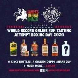 Rompa's Reggae Shack Online Rum Tasting - Boxing Day