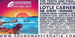 Rompa's Reggae Shack at Soundwave Festival Croatia