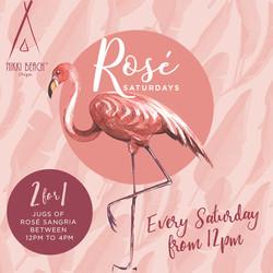 Rosé Saturdays