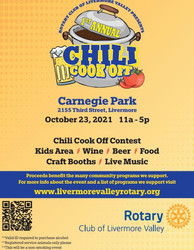 Rotary Club of Livermore Valley - Chili Cook Off