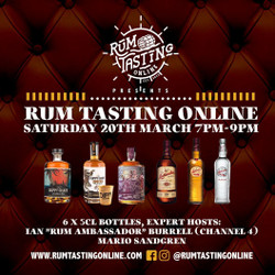 Rum Tasting Online with The Duppy Share + more.