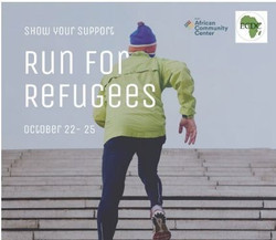 Run for Refugees October 22 to October 25