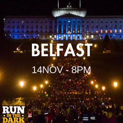 Run in the Dark Belfast 5k & 10k Option