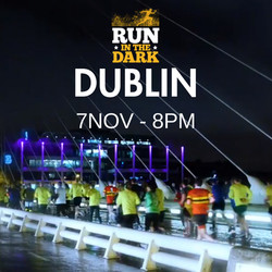 Run in the Dark Dublin 5k & 10k Option