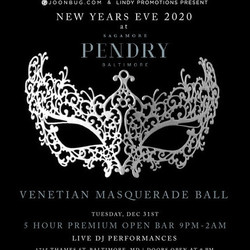 Sagamore Pendry Baltimore Nye Party 2020 Presented by Lindypromo.com