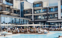 Saint Tropez Brunch - Friday at Cafe Nikki Poolside 1pm-4pm
