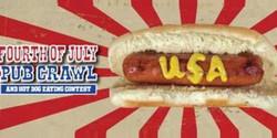 San Francisco Fourth Of July Pub Crawl & Hot Dog Eating Contest 2018
