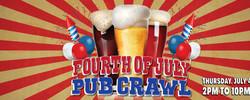 San Francisco Independence Day Pub Crawl