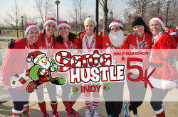 Santa Hustle Half Marathon, 5k & Kids Dash Indianapolis