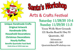 Santa's Workshop Art's and Craft Show Fundraiser