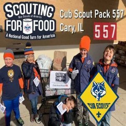 Scouting For Food - Cub Scout Pack 557 in Cary