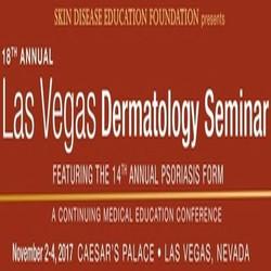 Sdef's 18th Annual Las Vegas Dermatology Seminar and 14th Psoriasis Forum