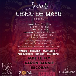 Secret Cinco de Mayo Fiesta