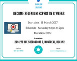 Selenium Training in Montreal