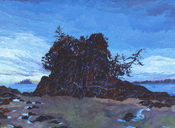 Ships, Mountains & the Sea V - Paintings of Bc coast & Burrard Inlet