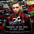 Shuffle @TheLivingRoomDXB Thursday 29 September 2016