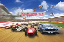 Silverstone Classic at the home of British motorsport - July 2018