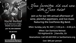 Sips, Snacks and Jazz with the CoolTones
