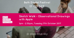 Sketch Walk - Observational Drawings with Apple