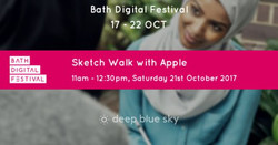 Sketch Walk with Apple