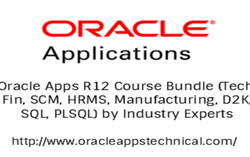 Oracle Apps R12 Course Bundle (Tech, Fin, Scm, Hrms, Manufacturing, D2k, sql, plsql)