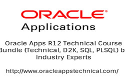 Slashed Prices on Oracle Apps R12 Technical Course Bundle (Technical+ Oracle D2k, Sql, Plsql)