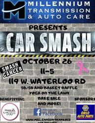 Smash Cancer Car Bash!
