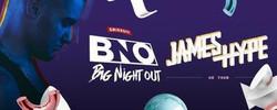 Smirnoff Big Night Out: James Hype Uk Tour