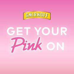 Smirnoff #GetYourPinkOn Mobile Experience