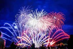 Somerset Patriots | BaySox v Patriots | Postgame Fireworks