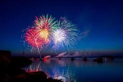 Somerset Patriots | Curve v Patriots | Postgame Fireworks