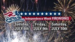 Somerset Patriots | Independence Week Fireworks Shows