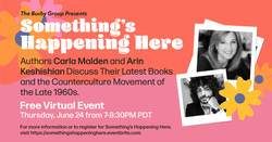 Something's Happening Here: 2 Authors Discuss The Late 1960s