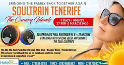 Soultrain Tenerife Winter Sun /Soul/Canary Islands/ Feb/March 20